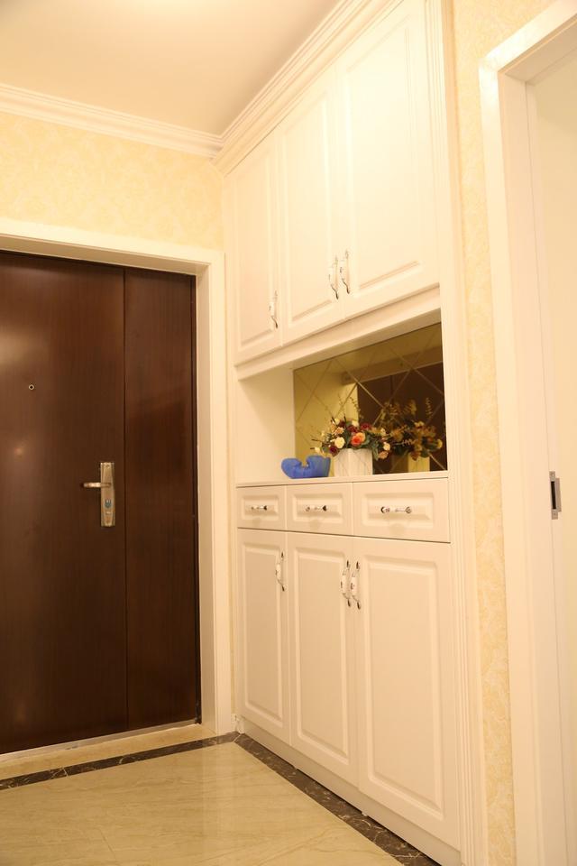 135平简欧风 半开放式厨房延伸视觉感