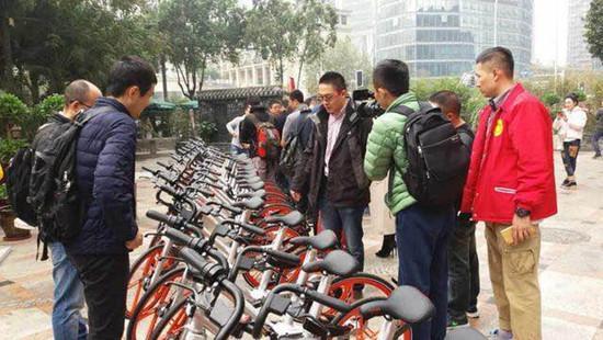 短途出行新选择 摩拜单车正式进驻成都(图)