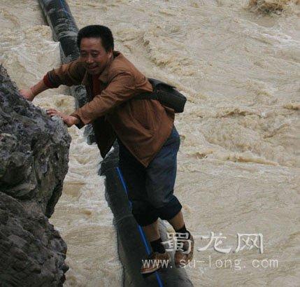 北川遭暴雨袭击 上千人连夜紧急转移(图)