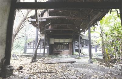 民资试水文物保护 自贡盐商豪宅将恢复原貌
