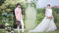 韩式小清新外景婚照
