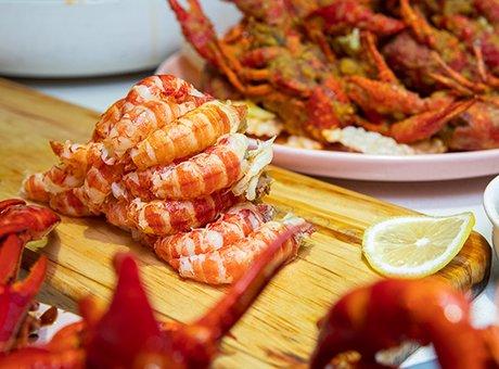 加了神秘调料的小龙虾店 朋友圈隐藏的吃虾根据地