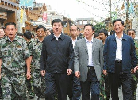 北川新县城25日整体移交 刘奇葆出席交接仪式