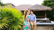 东南亚风格的婚纱照