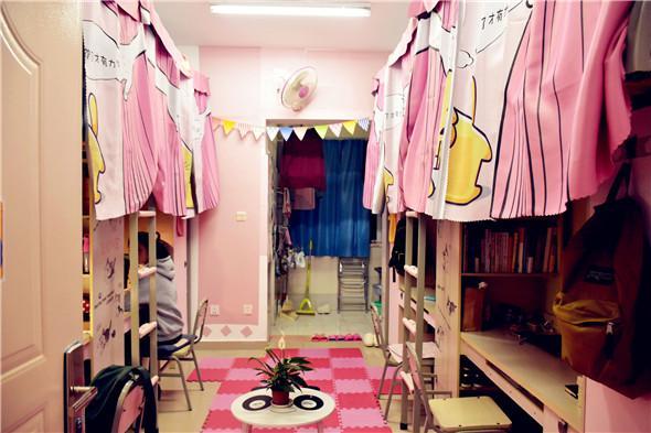 这样的大学寝室 住四年也不想走