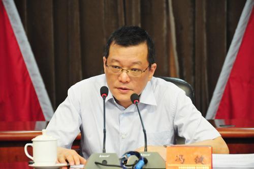 冯键任巴中市委副书记及巴中市政府代理市长(