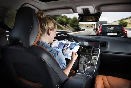 美国人不喜欢无人驾驶汽车 怕失去控制权高清图片