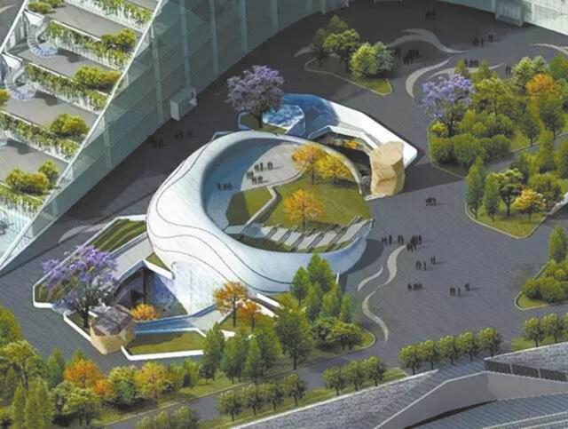 成都城南又一地标建筑即将亮相 将呈现顶级演出效果