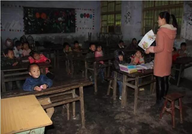 1座村小,60名学生,他们希望遥远的山村也能响起上课铃