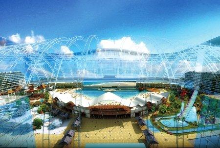 成都打造超大型城市综合体 明年亮相国际城南