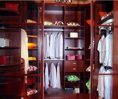 开门式衣柜内部结构