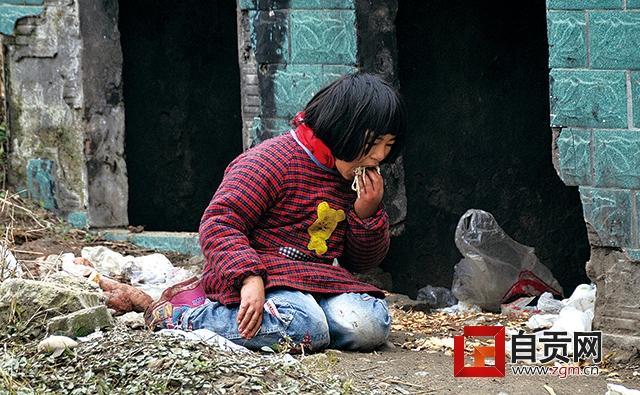 自贡11岁小女孩捡女生吃不好称力不从心管不肾垃圾奶奶怎么样会图片