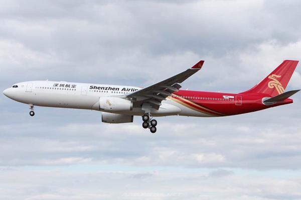 深航首架宽体机空客A330-深航首架A330宽体客机投入运营 执飞深蓉