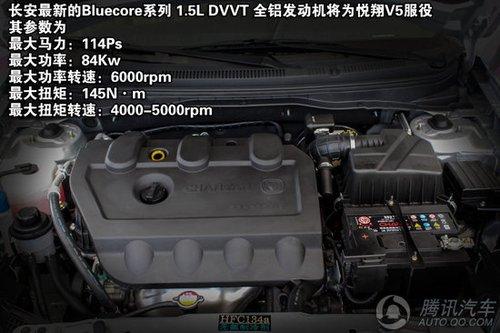 2012款长安悦翔v5 重点图解 高清图片