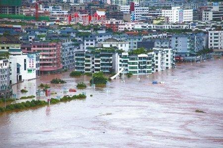 广安洪水致经济损失58.9亿元 无一起伤亡事件
