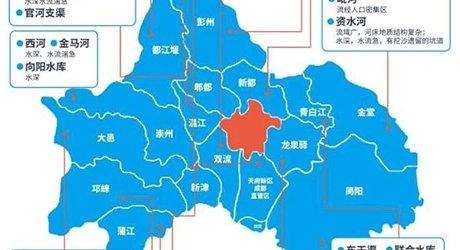 成都教育局发布2019夏季学生防溺水安全地图