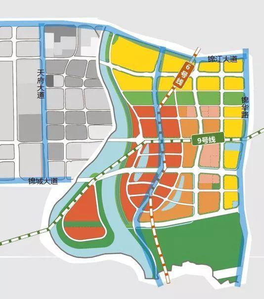 绝对中心城区 锦江区6大板块19宗土地亮相
