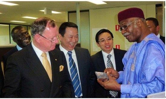 喀麦隆总理会见汉龙集团董事局主席刘汉_大成