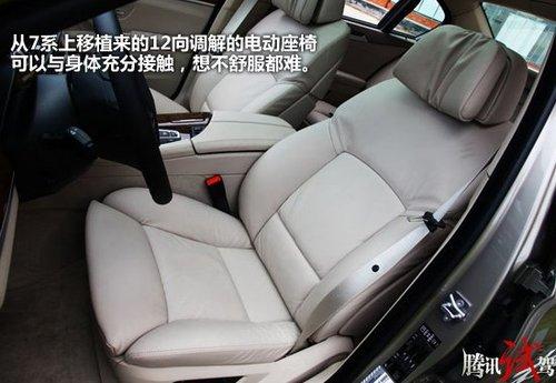 动静皆宜 腾讯汽车试驾全新宝马5系Li