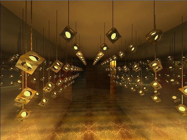 2014成都创意设计展 《人生多棱镜》
