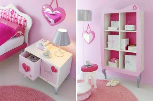 粉红芭比意大利家具 打造浪漫公主小屋