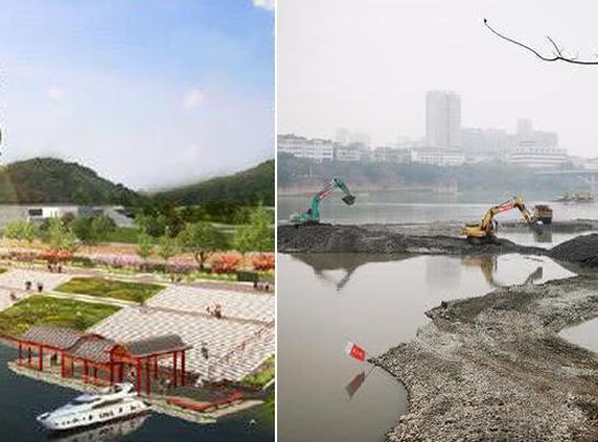 乐山大佛景区新增一个客运码头 今年3月完工