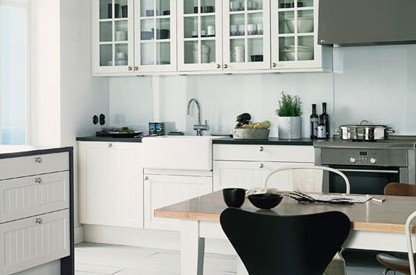 厨房装修指南 四款经典黑白色系厨房搭配法