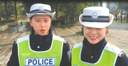 成都小伙点奶茶送寒风中的交警姐姐 备注:一定要热