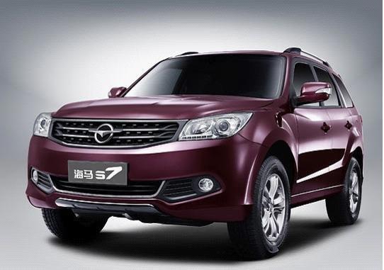 海马s7是海马汽车全新产品序列下首款suv车型,在2013年上海高清图片