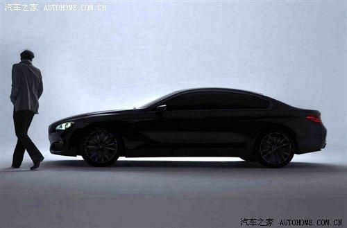 定位4门Coupe 宝马概念超级轿跑车发布