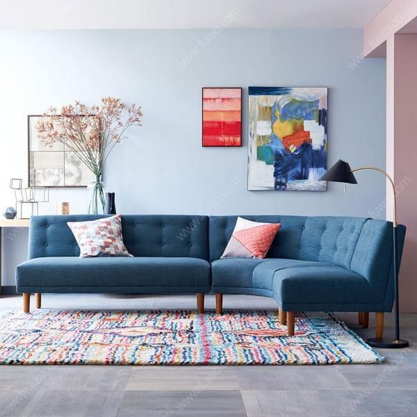 如果是木结构的布艺沙发,主体框架部分一般采用卯榫结构,若是发现内部