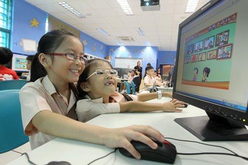 华语学习互动平台将向新加坡所有小学开放山照母小学图片
