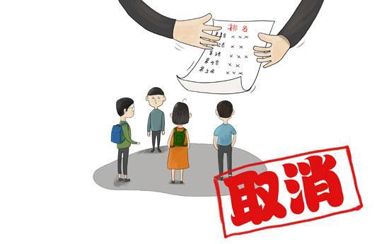 60.2%受访者希望义务教育阶段老师坚决不排名