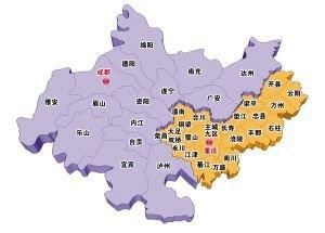 """成渝经济区规划原则通过 """"双核五带""""布局"""