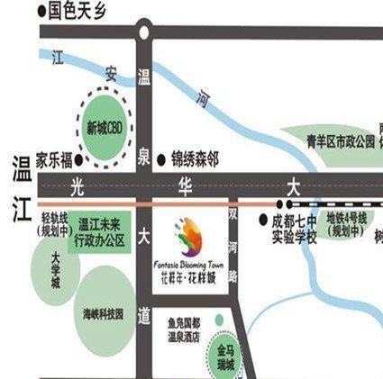 温江新城区规划图_凤凰北大街两旁规划