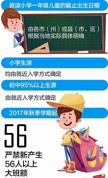 四川省教育厅:各市县自定小学入学年龄截止日期