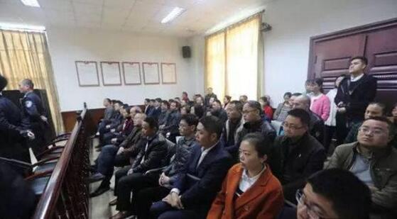 内江威远县干部旁听受贿案庭审 用身边人案例作警示
