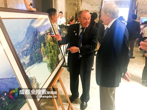 都江堰惊艳亮相世界旅游组织大会