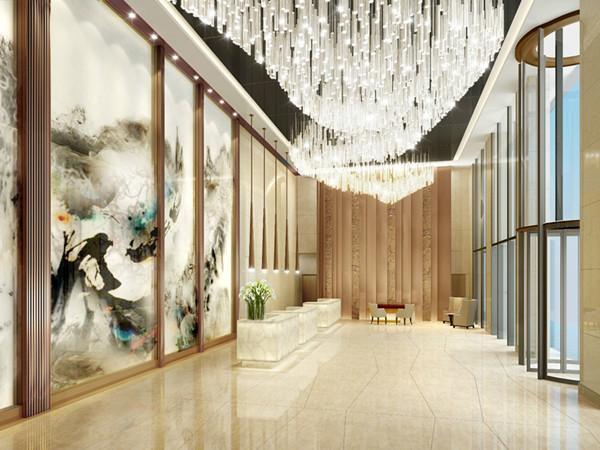 山光水影画中吟 一屏一梦又一程——中国最大蜀绣映现成都棕榈泉费尔蒙酒店