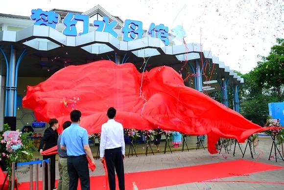 超梦幻 全国最大单体水母馆在成都亮相(图)