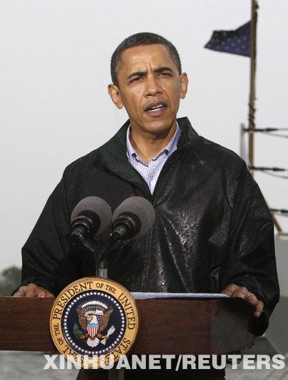 墨西哥湾漏油事件恶化考验奥巴马政府