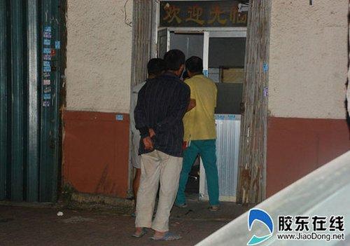 烟台扫黄:卖淫场所用电子眼环视监控 晚上挂红