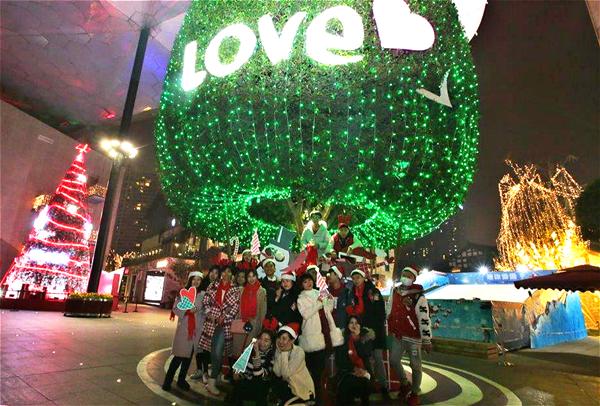 兰桂坊成都享爱 圣诞狂欢季即将上演