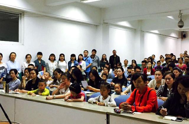 家长佳兴外国语新生小学部寄语一学校石室年级举行感恩小学生图片