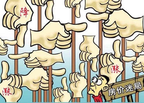 2017年北京房地产双降