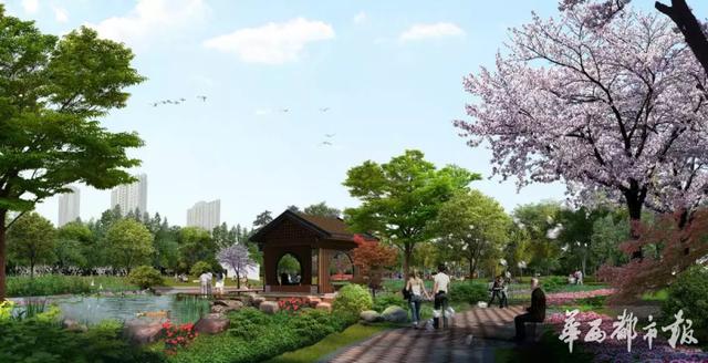 成都三环内再增超大绿地公园 金沙河滨公园将升级