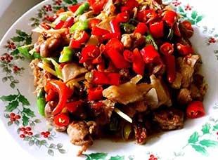 麻辣鲜香的双椒鸭 四川人必备家常菜