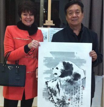 写意熊猫2014新春笔会