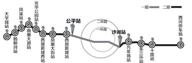 成都地铁4号线有望年内开建 2015年底将通车(图)