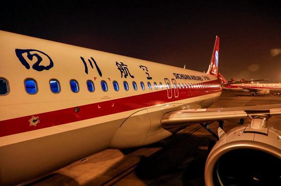 川航机队规模增至132架 明年新开多条国际航线